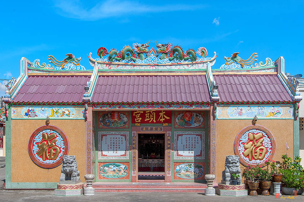 Thai-Chinese Temples in Ubon Ratchathani ศาลจีนในอุบลราชธานี Photographs