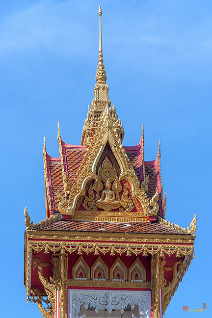 Wat Thong Nopakhun Bell Tower Roof วัดทองนพคุณ หลังคา หอระฆัง Photograph